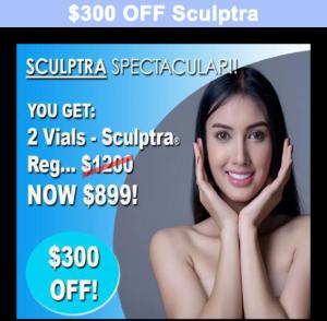 $300 off scultptra